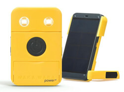 Power and Solar-Powered Flashlight and Charger