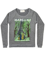 Madeline Graphic Print Fleece