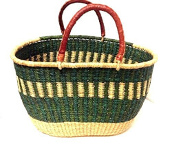 African Handwoven Tote Bag