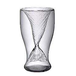 Mermaid Tail Transparent Shotglasses