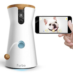 Dog Camera with Treat Toss