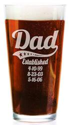 Personalized Pub Glass