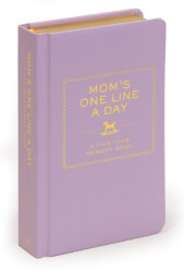 Mom's One Line a Day Memory Book