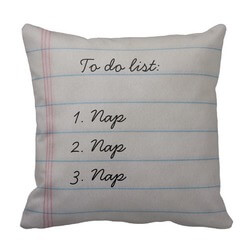 Funny To Do List Pillow