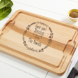 Personalized Maple Cutting Board