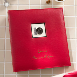 Personalized Recipe Binder