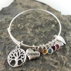 Personalized Grandma Bracelet