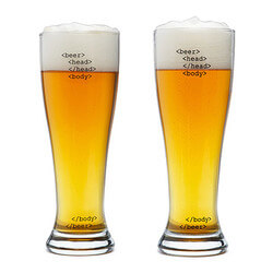 HTML Beer Glasses