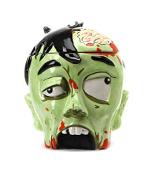 Zombie Cookie Jar Head