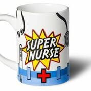 Super Nurse Superhero Mug