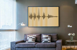 Personalized Voice Canvas Art