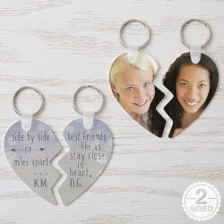 Best Friends Key Ring