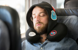 Travel Hoodie and Neck Pillow