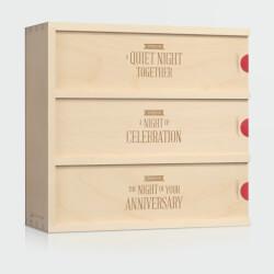 Three Nights Anniversary Wine Box