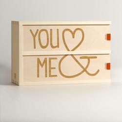 You & Me Wine Box