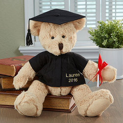 Graduation Gown and Cap Bear