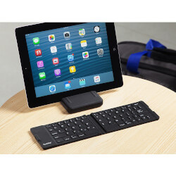 Waterproof Folding Bluetooth Keyboard