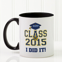 Custom Graduation Ceramic Coffee Mug