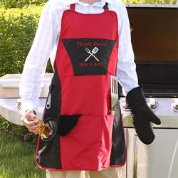 Personalized BBQ Grill Apron