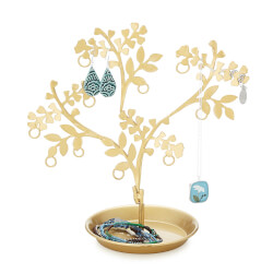 Brass Jewelry Tree