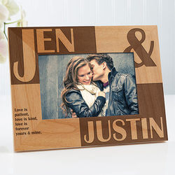 Romantic Personalized Picture Frames