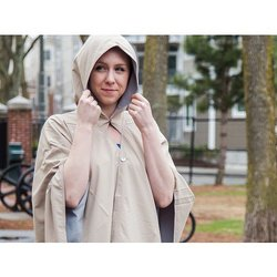 Hooded Waterproof Wrap & Pouch