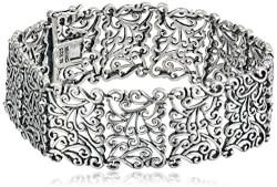 Sterling Silver Oxidized Bracelet