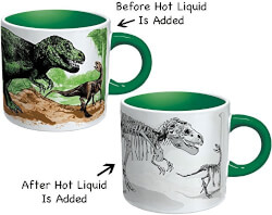 Color Changing Dino Mug