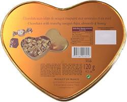 Gourmet Milk Chocolates Heart Tin