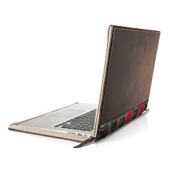 Vintage Leather Book Sleeve for Macbook