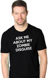 Zombie Funny Flip-Up Shirt
