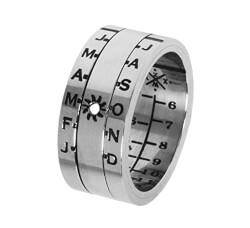 Sundial Silver Ring