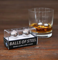 Balls of Steel - Whiskey Drink Coolers