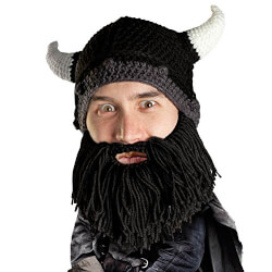 Beard Head - The Original Barbarian Looter Knit Beard Hat