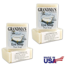 Natural Lye Soap Bars