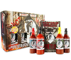 Zombie Cajun Hot Sauce Kit