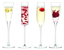 Assorted Lulu Champagne Flutes
