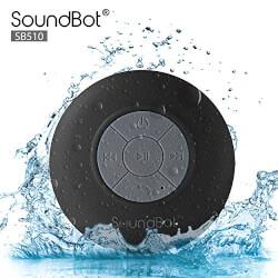 Mini Water Resistant Wireless Shower Speaker