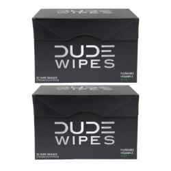 Dude Wipes, Flushable Single Moist Wipes