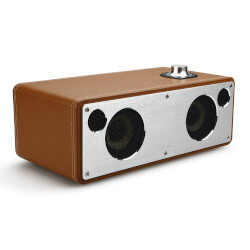 Wireless Home Audio Leather Speaker