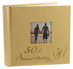 50th Wedding Anniversary Photo Album