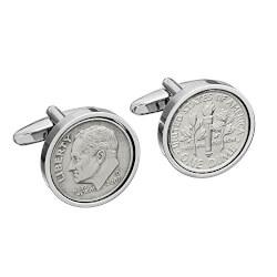 Tin Coin Cufflinks