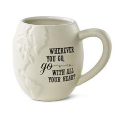 Pavilion Gift Company 61027 Wherever You Go Stoneware Mug