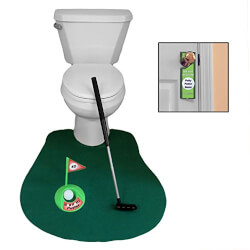 Golf Potty Putter for Bathroom