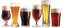 Craft Brew Beer Glasses