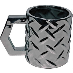 Streamline Tough & Rugged Steel Plate Mug