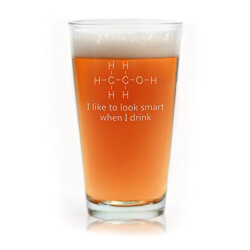 Funny Pint Glass