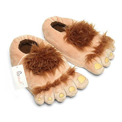 Furry Monster Adventure Slippers