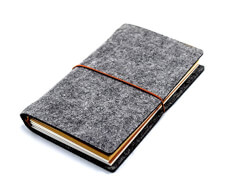 Wool Felt Cover Journal