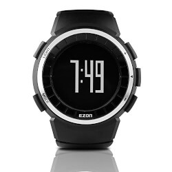 Men's Digital Pedometer Watch